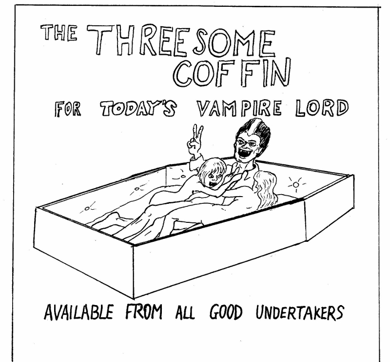 Threesome Coffin